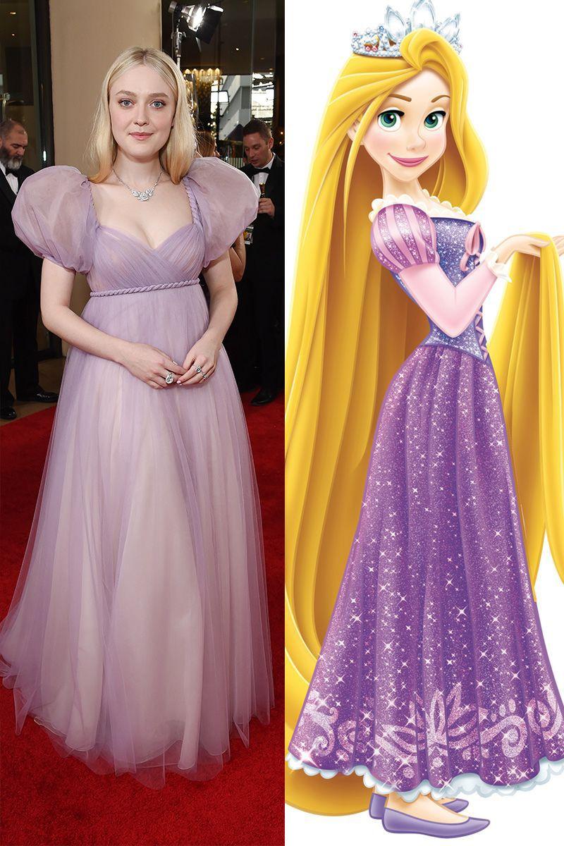 Dakota Fanning as Rapunzel