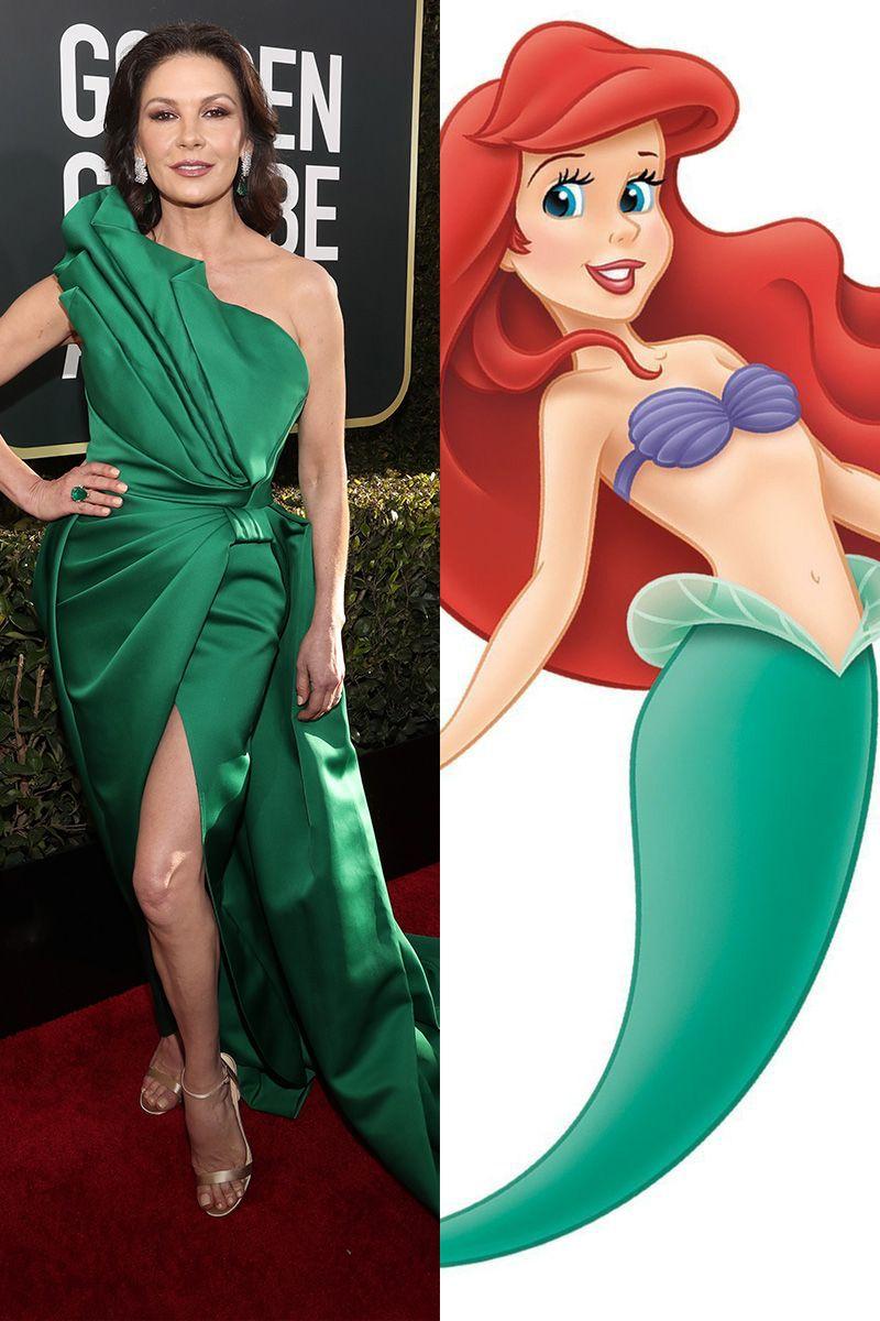 Catherine Zeta-Jones as Ariel