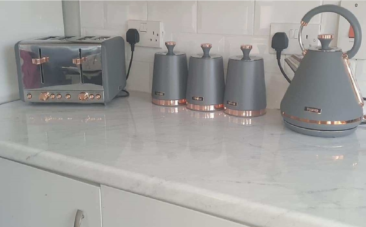 The Refurbished Counters of Stacey Solomon
