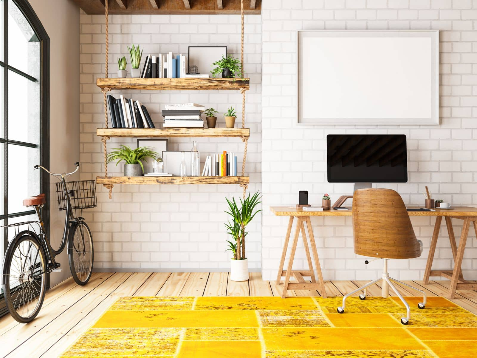 5 Home Office Ideas That Will Make a Workplace More Enjoyable