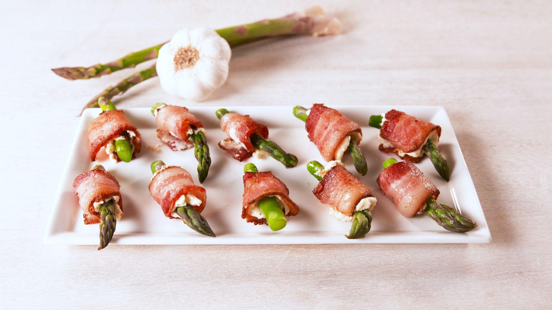 Bacon Asparagus Bites