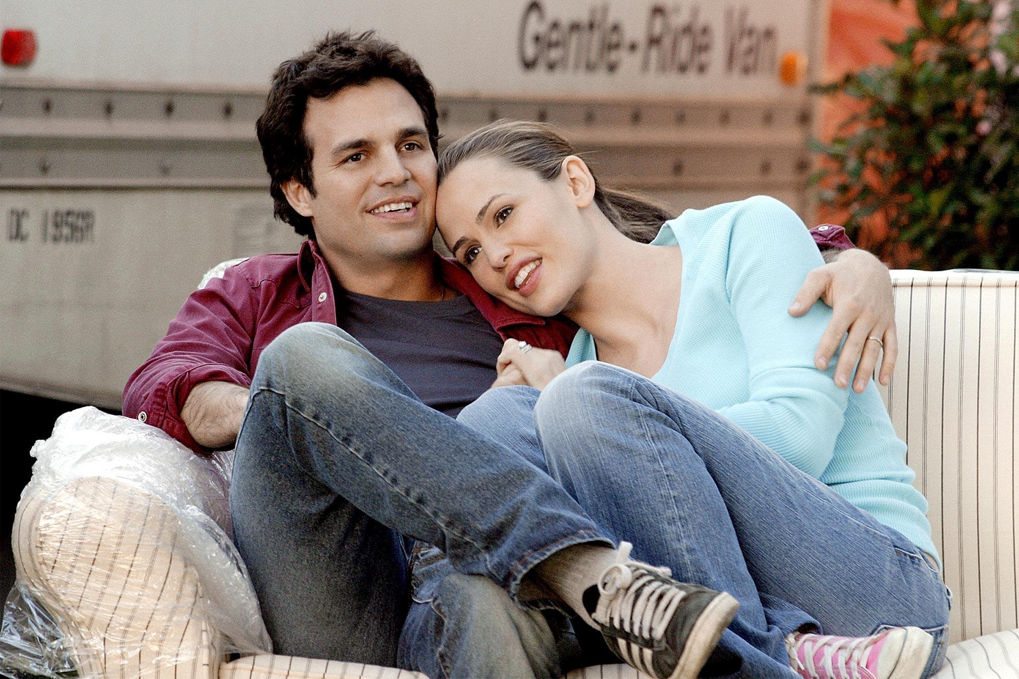 Mark Ruffalo and Jennifer Garner in 13 Going on 30