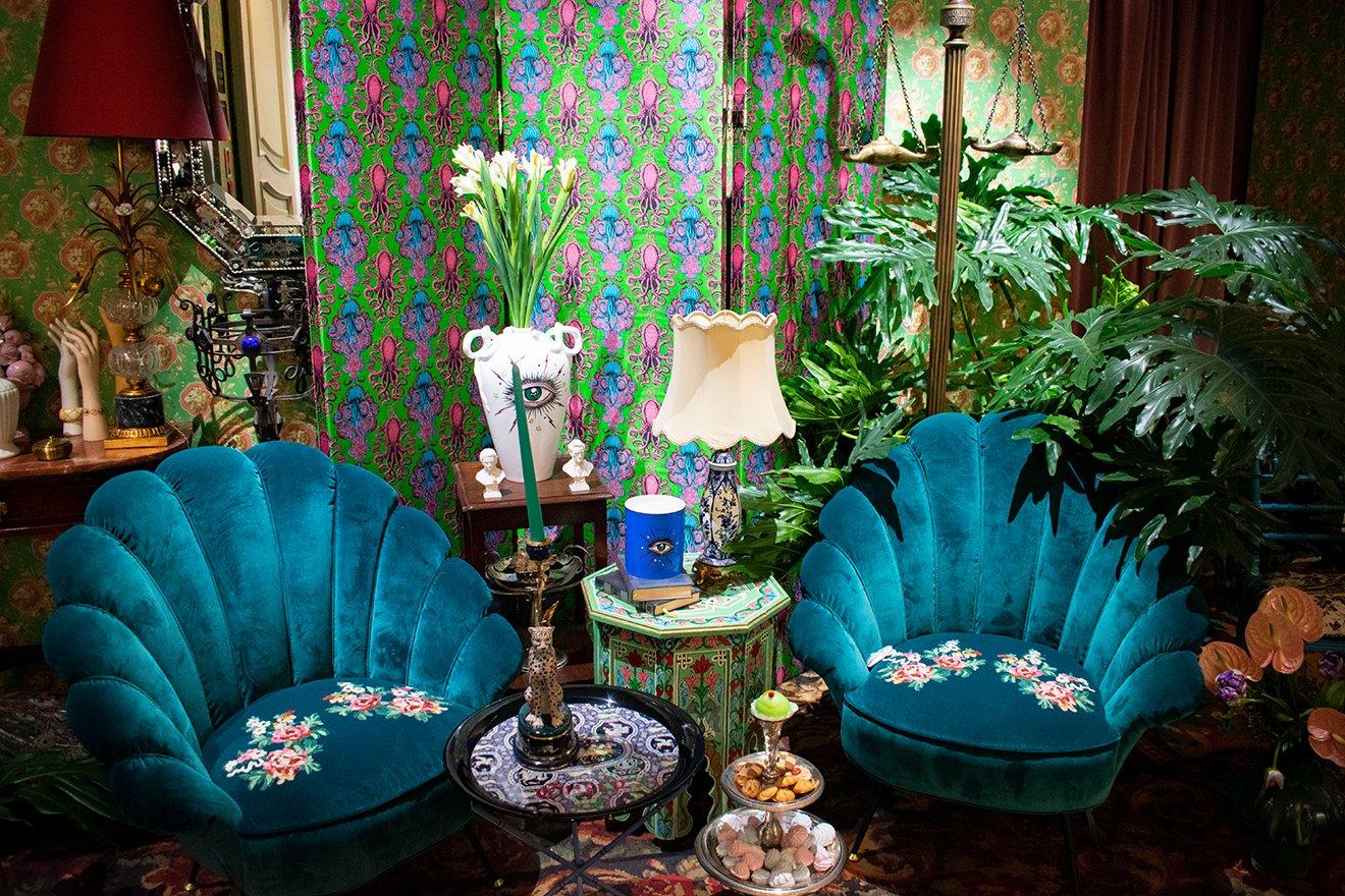 Gucci's New Home Decor Offers a Fun and Eccentric Aesthetic