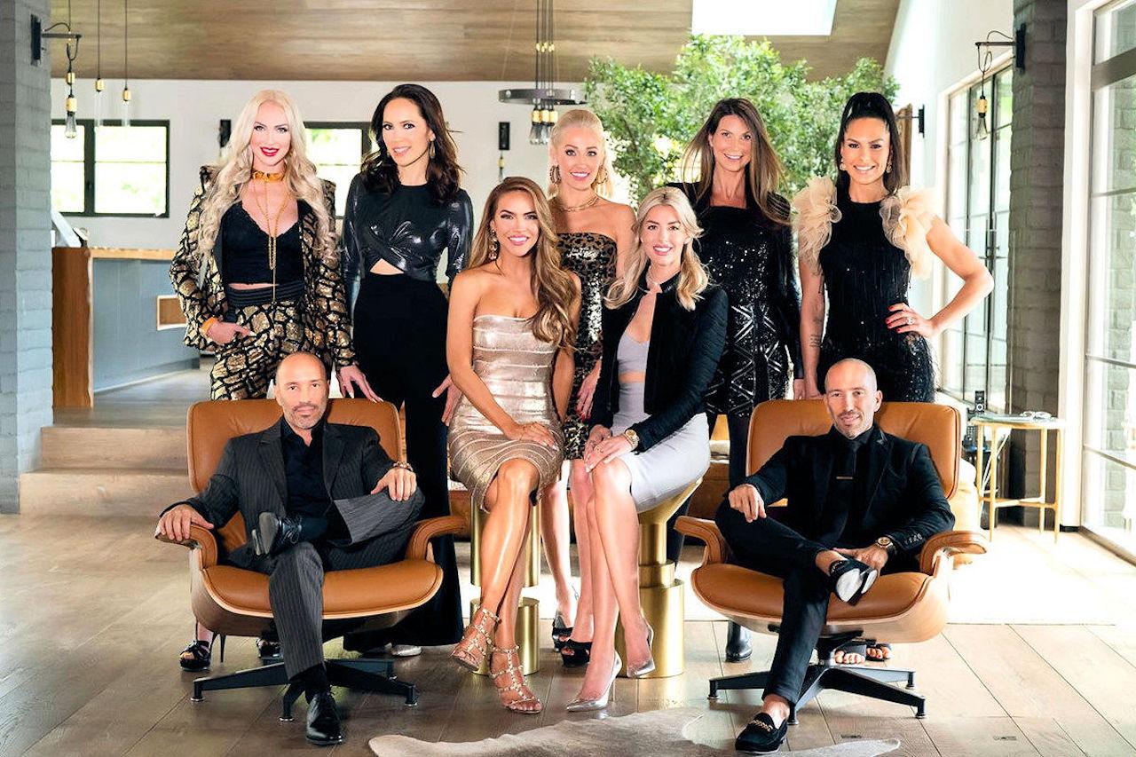 The OG cast of Selling Sunset on Netflix.