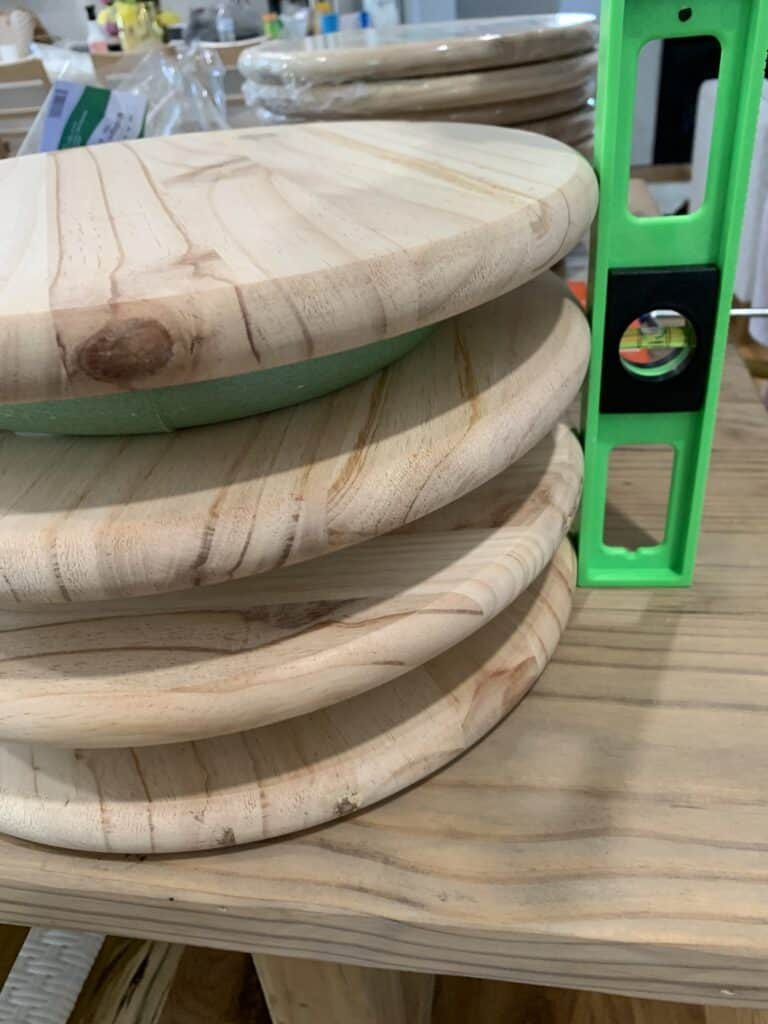 Making the Stools