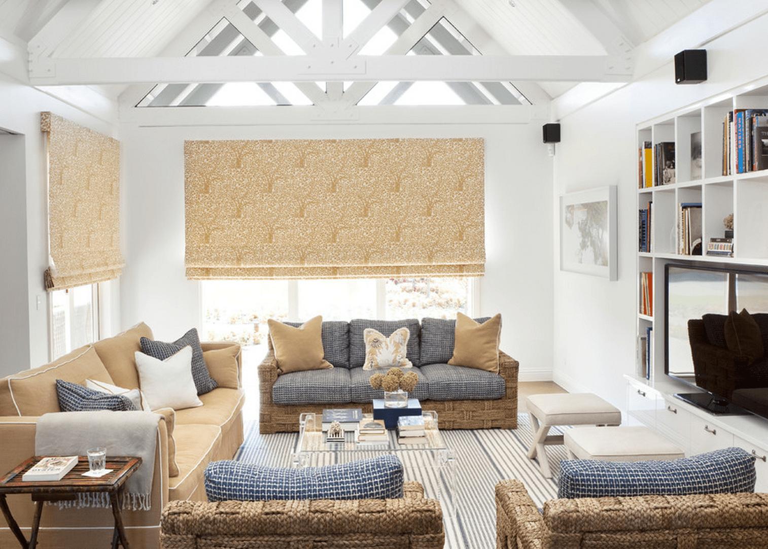A beach house-inspired interior design