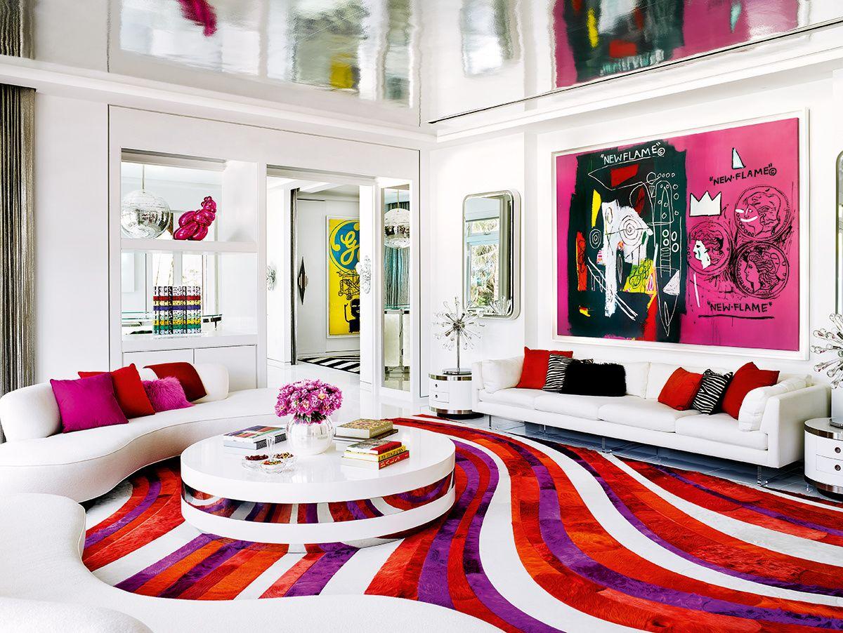 an Art Deco interior