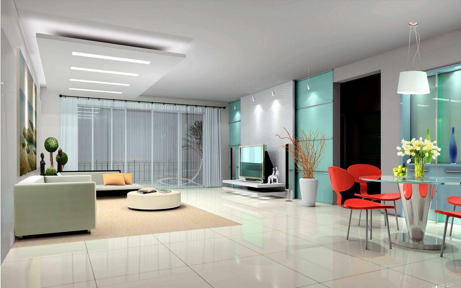 A Postmodern interior