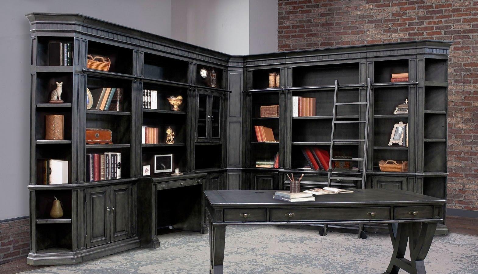 An interior with stylish storage furniture