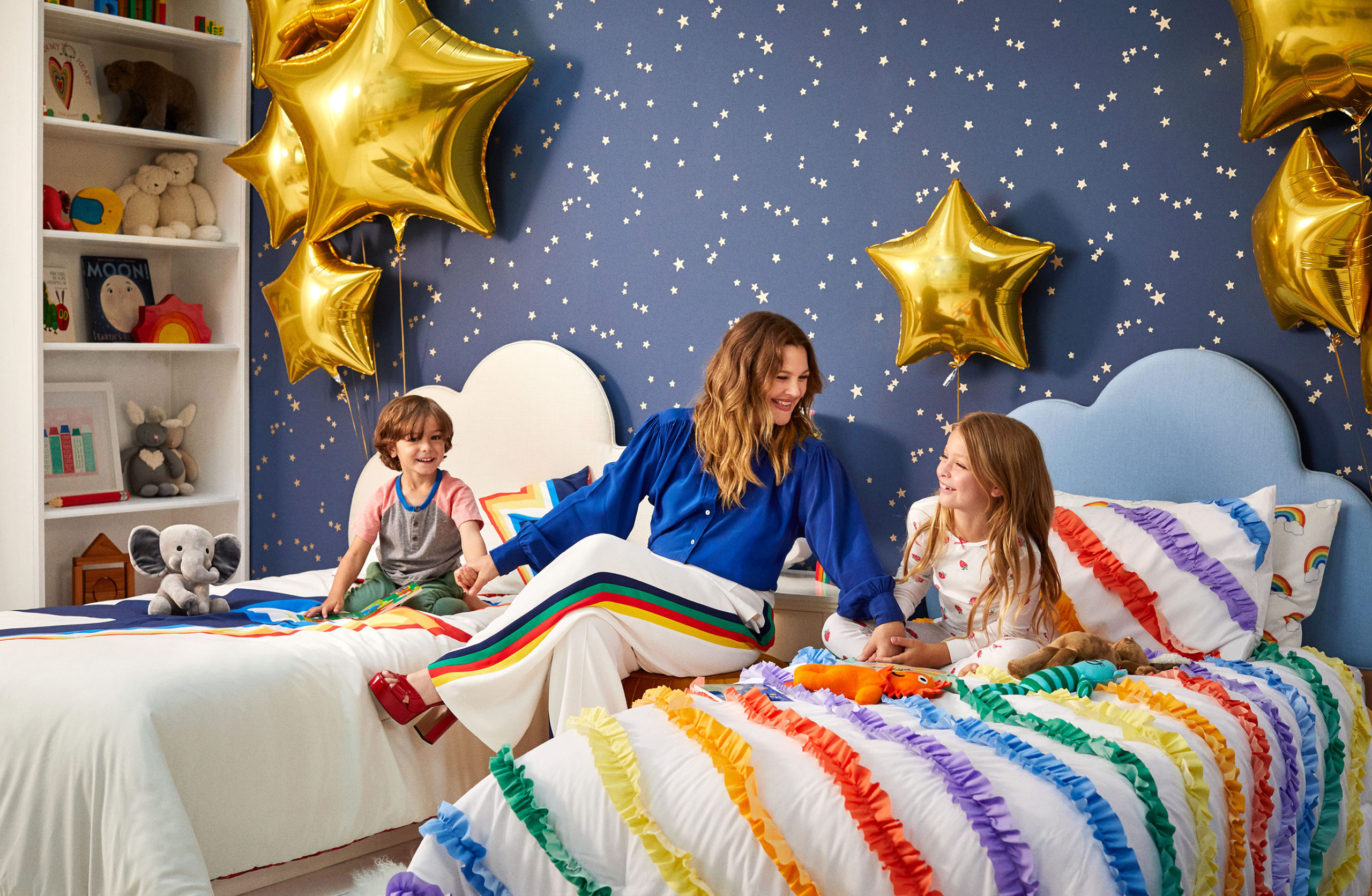 Drew Barrymore Launches a New Paint Collection at Walmart